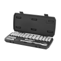 "HART 18-Piece 3/8"" Drive Deep Socket Set with Ratchet"