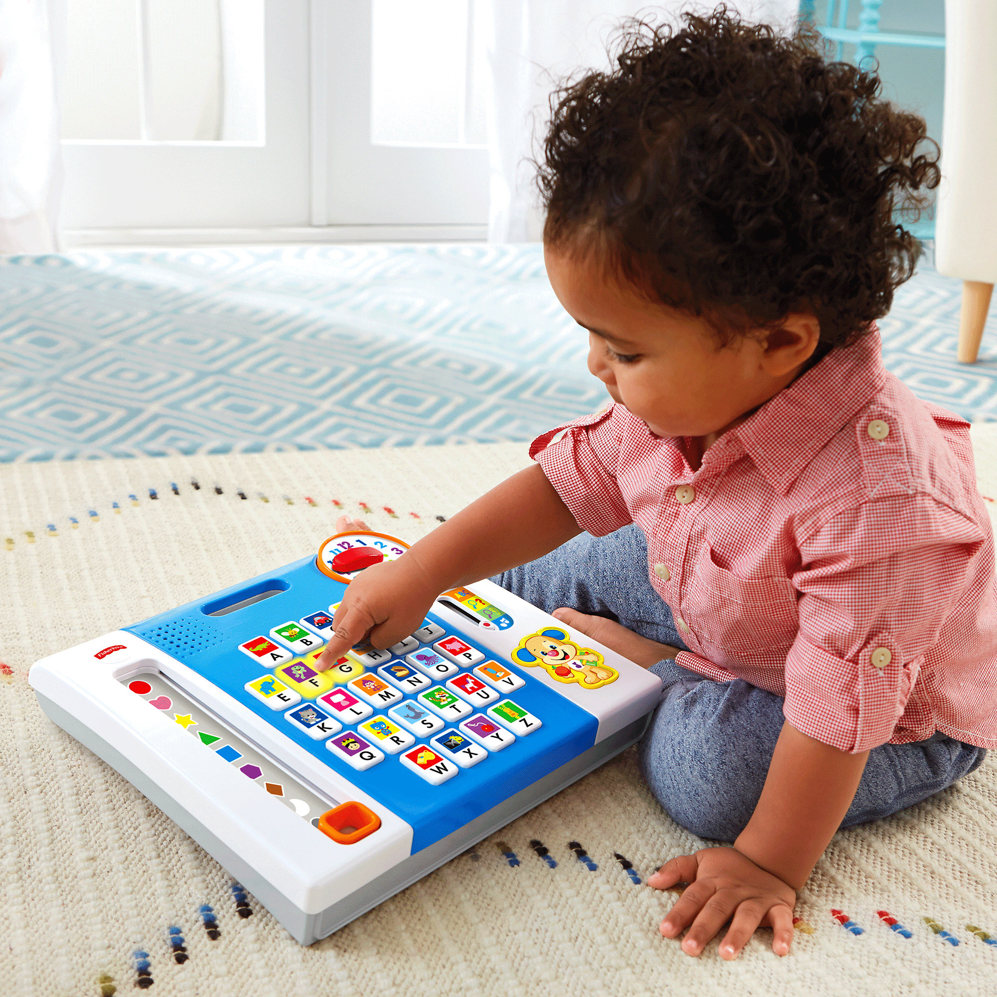 Fisher Price Laugh & Learn Puppy's A to Z Smart Pad by Fisher-Price