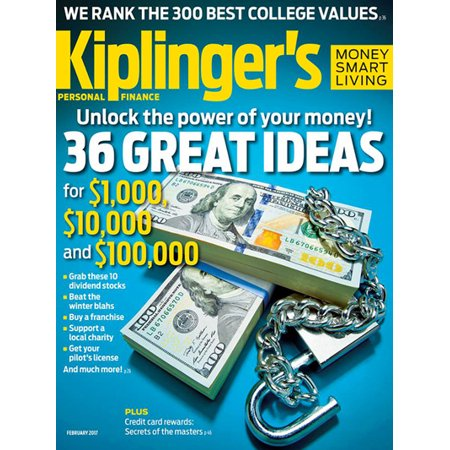 Kiplingers Personal Finance   Magazine Subscription  Save 80