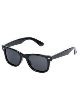 Classic Style Children Ages 2-12+ BLACK Kids Toddler Boys Girls Sunglasses RETRO Small Child