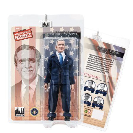 US Presidents 8 Inch Action Figures Series: George W. Bush [Blue