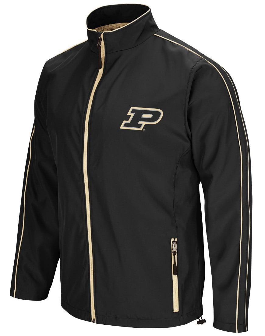 "Purdue Boilermakers NCAA ""Barrier"" Men's Full Zip Wind Jacket by Colosseum"