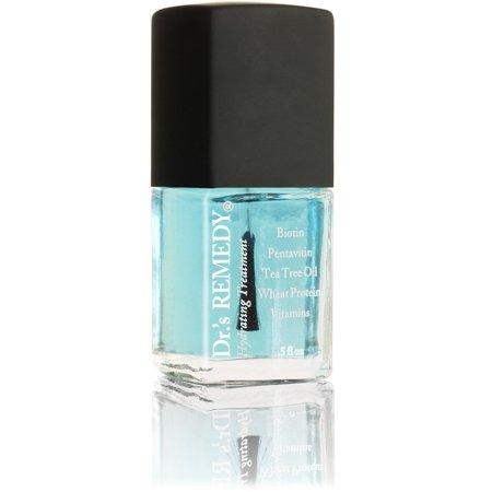 Dr.'s Remedy Non-toxic Nail Polish Clear - Hydrating - Enriching nail polish helps Toe Fungus (Simple Halloween Toe Nail Designs)