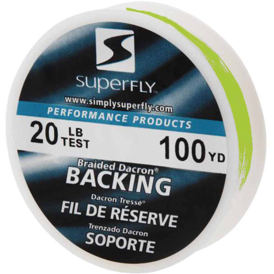 Superfly Performance Backing 100 Yards, 20 lb Test Chartreuse