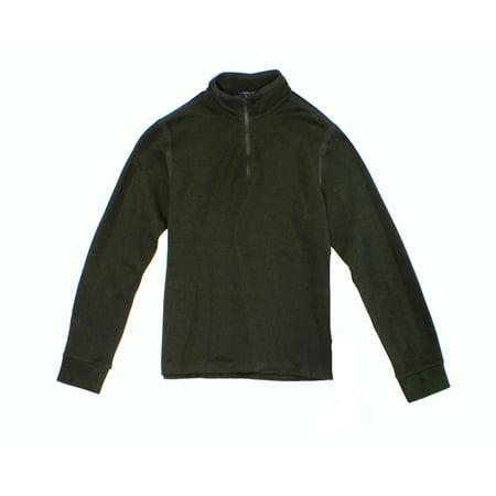 Polo Ralph Lauren NEW Green Mens Size Medium M 1/2 Zip Pullover Sweater