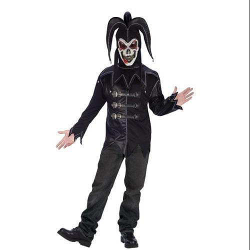 Black Twisted Jester Costume Adult