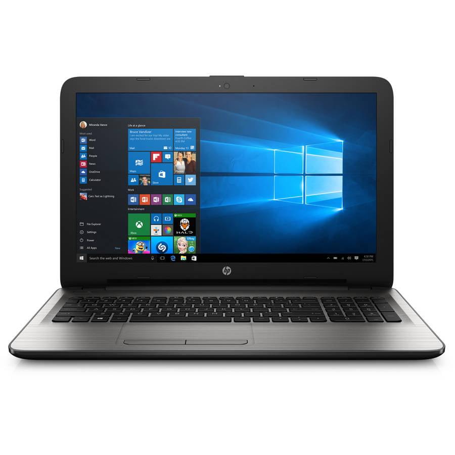 "HP 15-AY039WM 15.6"" Silver Fusion Laptop, Windows 10, Int..."