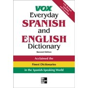 Vox Dictionary: Vox Everyday Spanish and English Dictionary: English-Spanish/Spanish-English (Paperback)