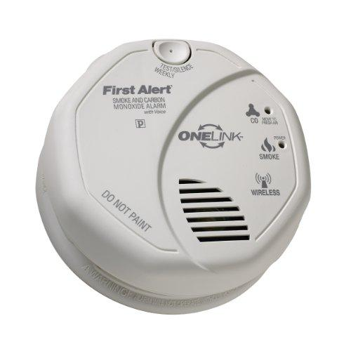 First Alert Sco501cn-3st First Alert Onelink Battery Operated Combination Smoke And Carbon Monoxide Alarm With Voice Location (sco501cn3st)