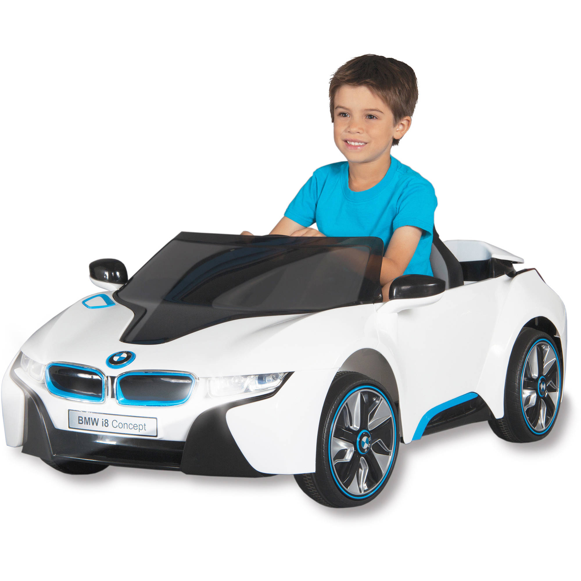 Dynacraft BMW I8 Concept Car 6-Volt Battery-Powered Ride-On