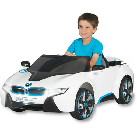 BMW I8 Concept Car 6-Volt Battery-Powered Ride-On - Walmart.com