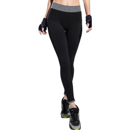 LELINTA Women's Yoga Pants Power Flex Workout Running Pants Tights Leggings Full Length Trousers Four Color