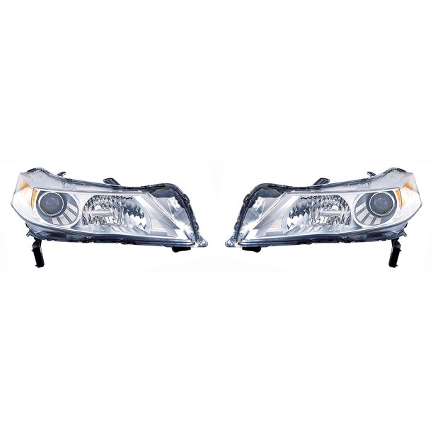 For Acura TL 2010-2011 Headlight Assembly Unit With HID