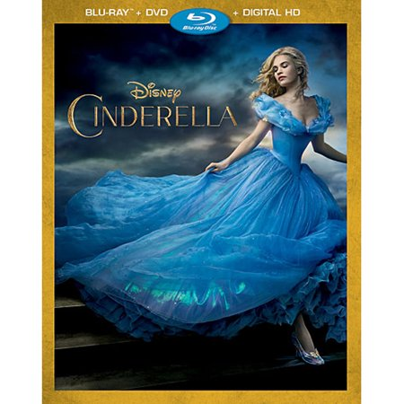 Cinderella (2015) (Blu-ray + DVD + Digital HD) - Halloween Movie Disney