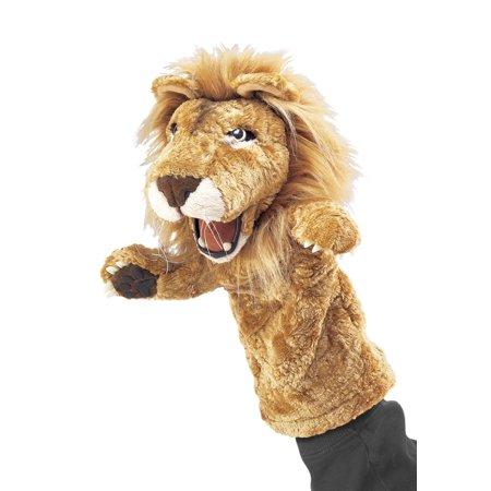 Lion Plush Puppet (Hand Puppet - Folkmanis - Lion Stage Puppet New Toys Soft Doll Plush)