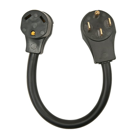 - Surge Guard 30AM50AF18 RV Power Cord Adapter - 30 Amp Male 50 Amp Female, 18