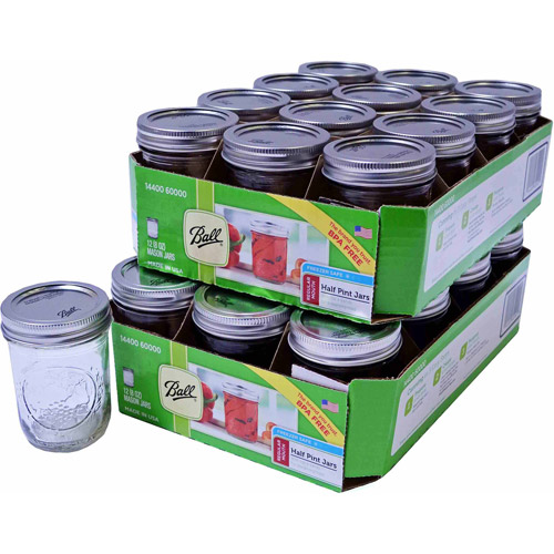 Ball Mason Canning Jars, 8-oz, 12pk