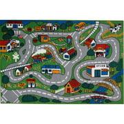 Fun Rugs Children's Fun Time Collection, Country Fun