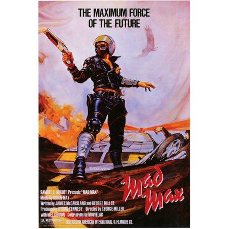 Mad Max (1980) 11x17 Movie Poster - Halloween 1980 Trailer