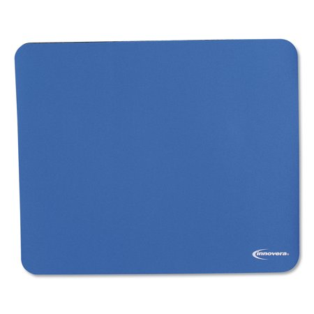 Latex-Free Mouse Pad, Blue Germ Free Rest Mat