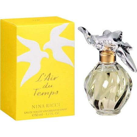nina ricci l 39 air du temps women 39 s 1 7 ounce eau de parfum spray. Black Bedroom Furniture Sets. Home Design Ideas