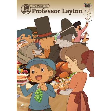 The World of Professor Layton (Paperback) (Professor Layton And The Last Specter Rom)