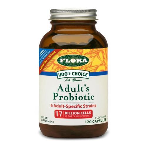 Udo's Choice Adult's Blend Probiotic Flora Inc 120 Caps