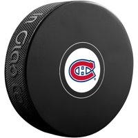 Montreal Canadiens Unsigned InGlasCo Autograph Model Hockey Puck - Fanatics Authentic Certified