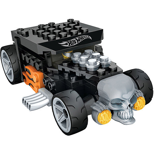 Mega Bloks Hot Wheels Bone Shaker Play Set, Black by