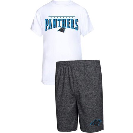560173b4 Carolina Panthers Concepts Sport Father's Day T-Shirt & Shorts Sleep Set -  White/Charcoal