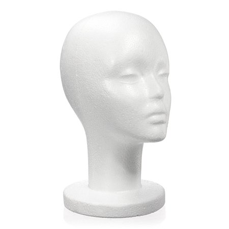Female Mannequin Styrofoam Foams Wigs Hats Head Display Holder Model Stand FAST - On Sale - Geisha Wigs Sale