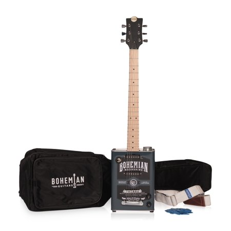 Bohemian Guitars Electric Guitar Kit with Guitar, Gig Bag, Strap and - Electric Guitar Decorations