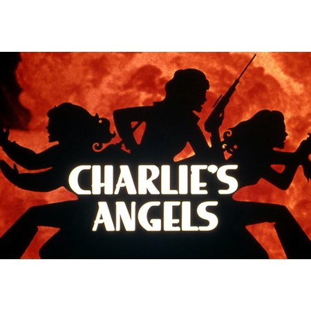 Charlie's Angels classic 1970's tv series opening credit titles 24x36 Poster - Halloween Opening Credits