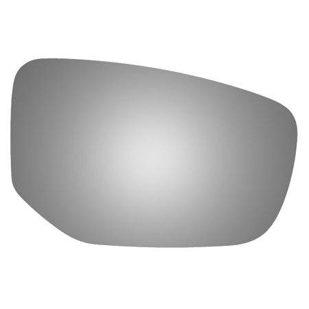 Burco 5539 Passenger Side Replacement Mirror Glass for 2013-2016 Dodge Dart Dodge Dart Gas Tank