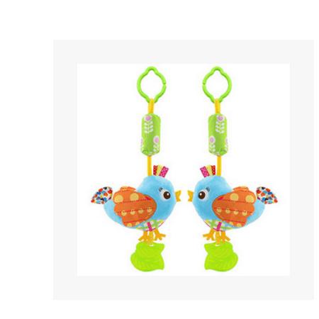 Happy Monkey - HAPPY MONKEY baby plush toys, cartoon animal models, gutta percha, wind chimes, BB, children's toys