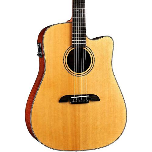 Alvarez MD60CE Acoustic Electric Guitar Natural Finish with Case by