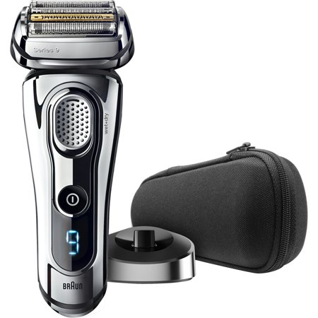 Braun Series 9 9293s Men's Electric Foil Shaver, Wet and Dry Razor with Charging Stand and Travel case (Braun Shaver Corded)