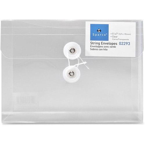 Sparco String-A-Long Poly-Hide Envelopes
