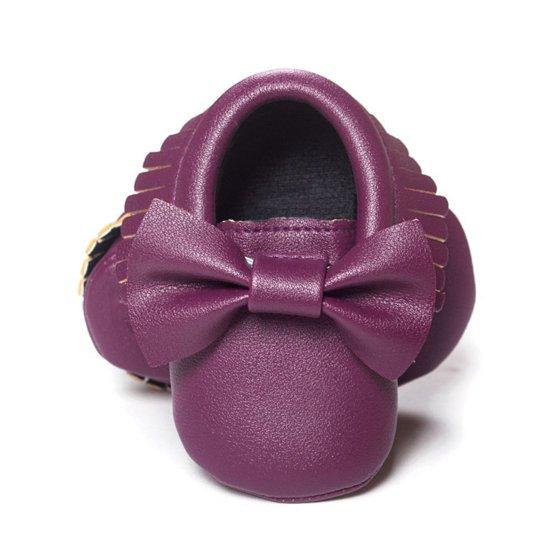 a30be2e8a1d JLONG - JLONG Toddler Infant Boys Girls Bowknot Crib Shoes Baby Kid Soft  Sole Leather Prewalker - Walmart.com