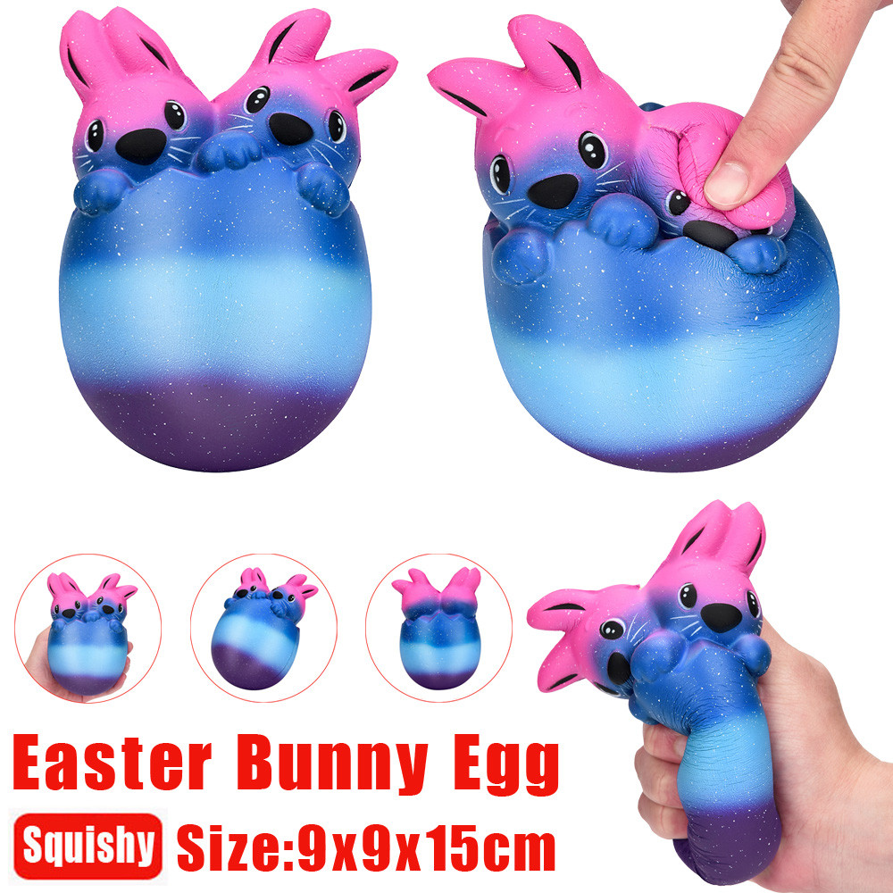 Outtop 15cm Easter Bunny Egg Scented Slow Rising Collect Easter Gift