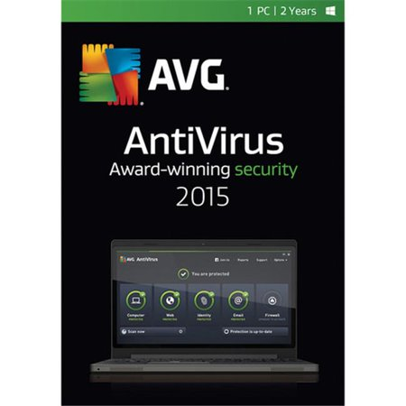 Avg Av15n24en001 Avg Antivirus 2015   1 User 2 Years