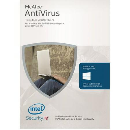 Mcafee 2016 Antivirus  1 Device