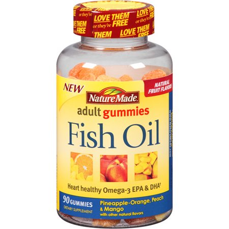 Nature made gummy fish oil