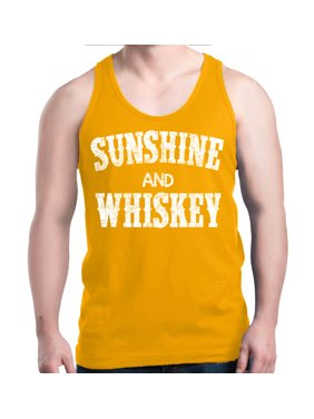 063c5269f199c Product Image Shop4Ever Men s Sunshine and Whiskey Drinking Graphic Tank Top