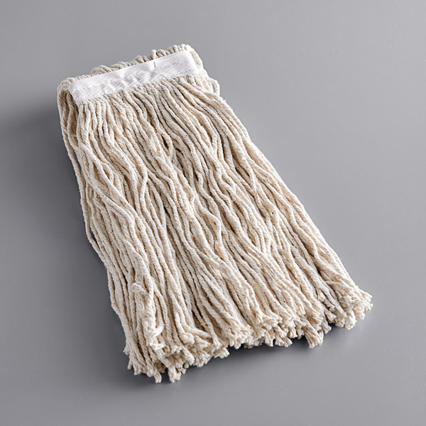 Continental A847115 Natural 24 Oz Cotton Cut End Mop Head With 1 1 4 Band Walmart Canada