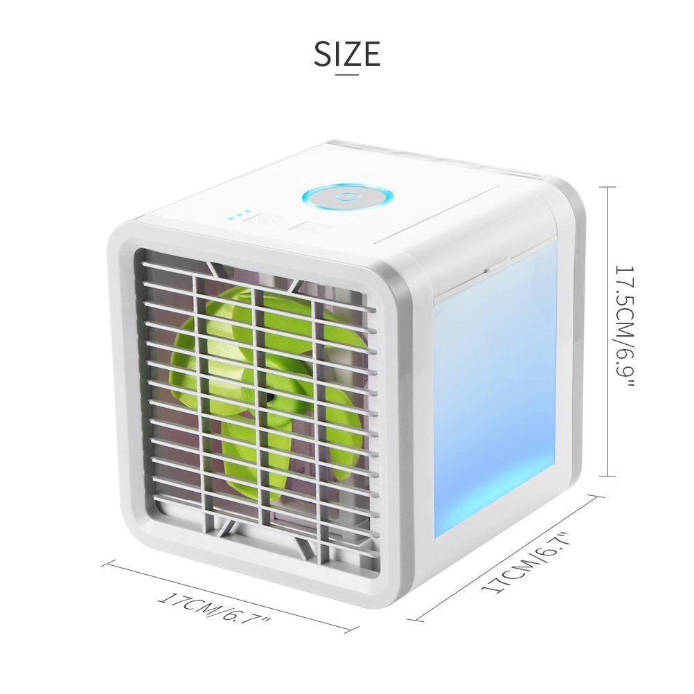 Air Conditioning Unit Conditioner Fan Low Noise Home Cooler ... on