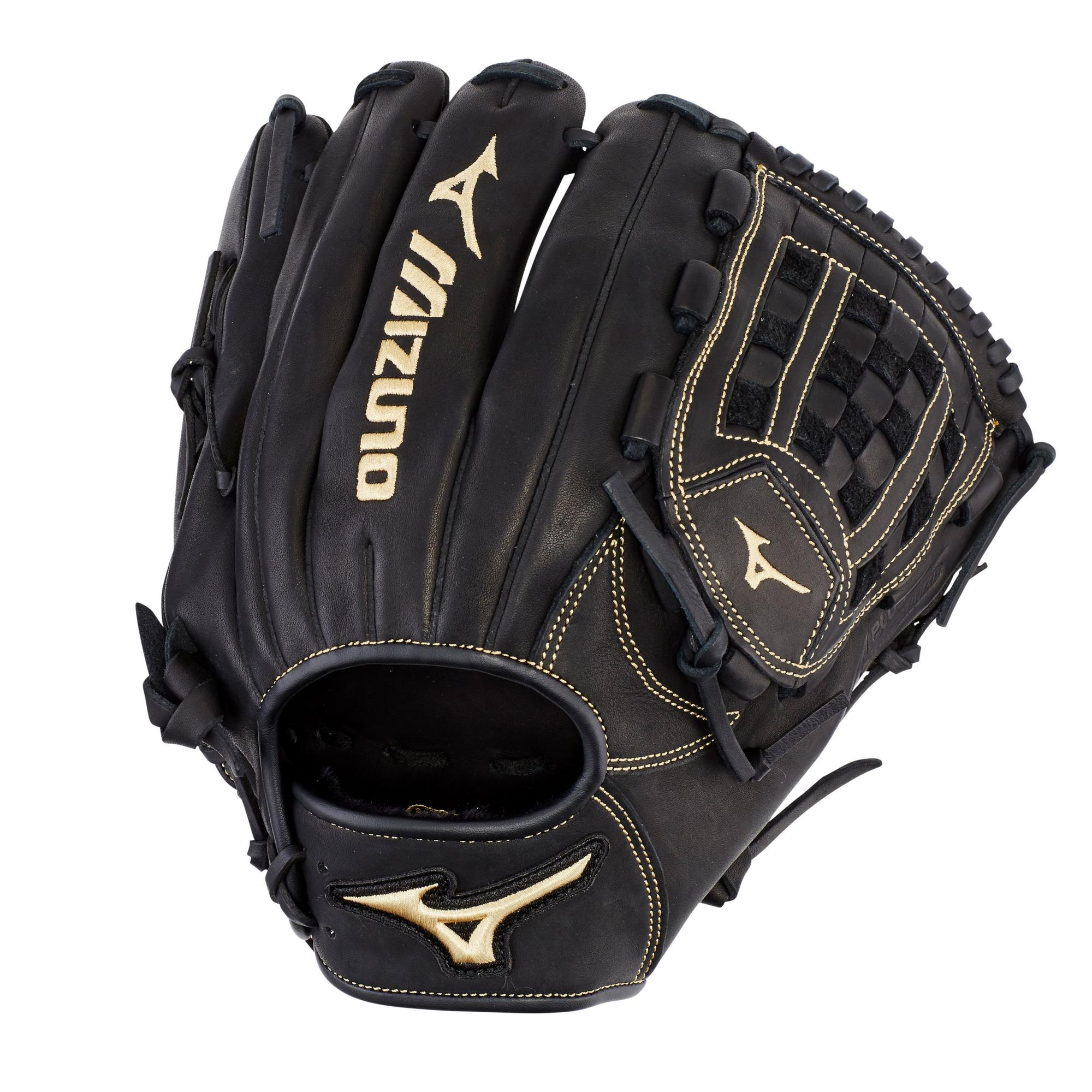 "Mizuno 12"" MVP Prime Series Outfield/Pitcher Baseball Glove, Right Hand Throw"