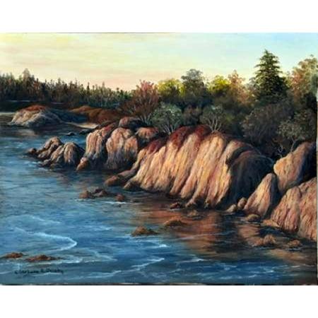 - Carmel Sunset Stretched Canvas - Barbara Felisky (10 x 12)