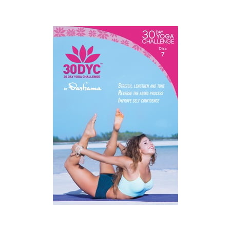Dashama Konah Gordon: 30 Day Yoga Challenge Disc 7 (DVD)