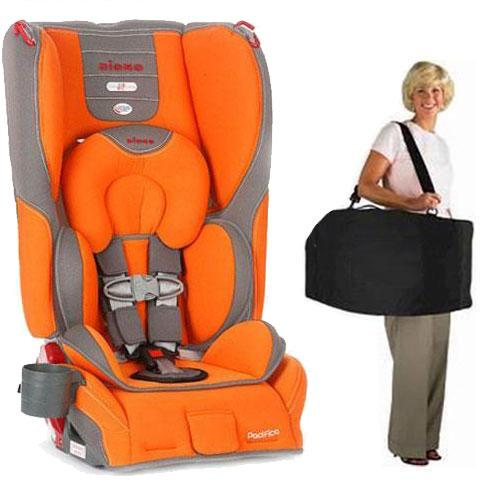 Diono - Pacifica Convertible   Booster Car Seat with Carry Case - Sunburst